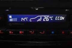 Golf IV CLIMAtronic fehér inverz LCD-vel