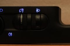 Kék fényszóró kapcsoló