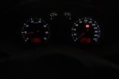 SEAT Cordoba 2007 óracsoport fehér számlap piros inverz LCD