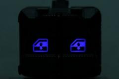 Kék dupla ablak