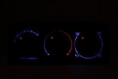 Klímás kék - középen kék/piros