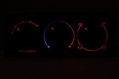 Klímás piros - középen kék/piros
